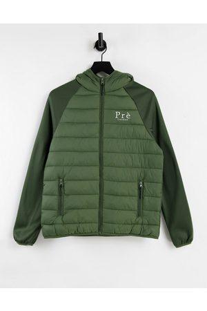 Pre London Hybrid padded jacket in khaki