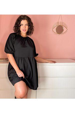 Urban Bliss Plus Smock dress in black