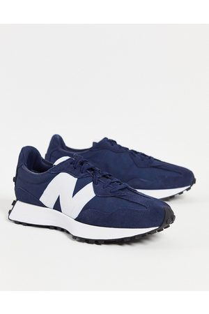 New Balance 327 core trainers in navy
