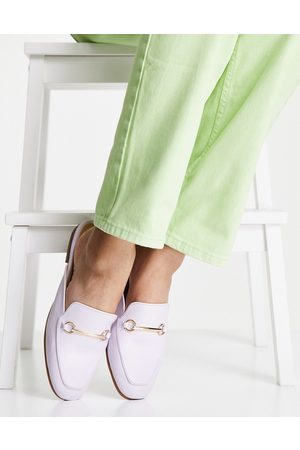 Accessorize Backless loafer in lilac