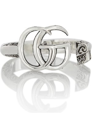 Gucci Double G sterling silver ring