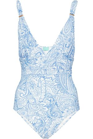 Melissa Odabash Panarea printed swimsuit