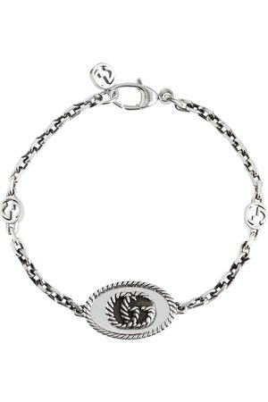Gucci Double G chainlink sterling silver bracelet