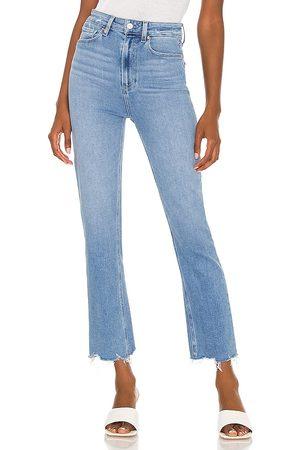 Paige Ultra high rise cindy jean en color azul talla 24 en - Blue. Talla 24 (también en 25, 26, 27, 28, 29, 30).