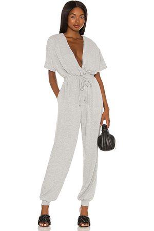 MAJORELLE Mujer Largos - Will jumpsuit en color gris talla L en - Grey. Talla L (también en XXS, XS, S, M, XL).