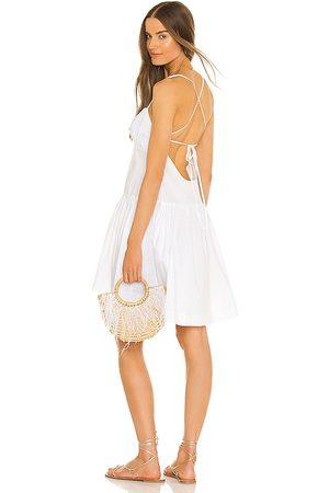 LPA Vestido ianna en color talla L en - White. Talla L (también en XXS, XS, S, M, XL).