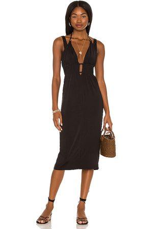 MAJORELLE Mujer Vestidos - Vestido ginger en color talla L en - Black. Talla L (también en XXS, XS, S, M).