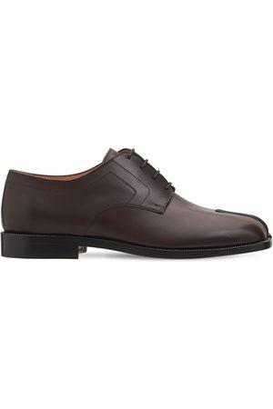 Maison Margiela Zapatos De Piel Tabi Con Cordones 20mm