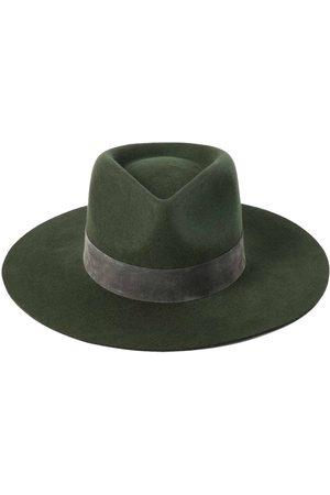Lack of Color Mujer Sombreros - Sombrero Fedora Mirage Forest De Lana