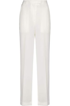 Frankie Shop Isla high-rise straight pants