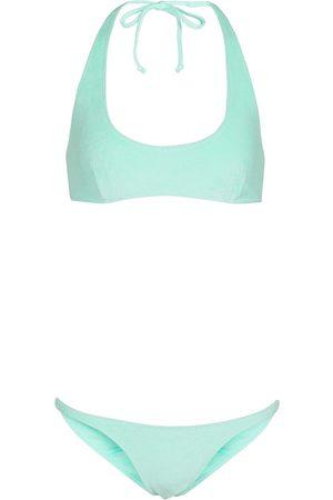 Lisa Marie Fernandez Amber stretch-cotton terry bikini