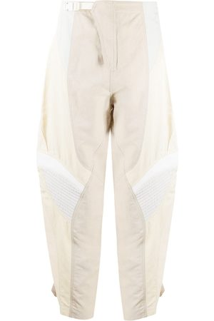 Stella McCartney Mujer Pantalones y Leggings - Pantalones tapered con paneles