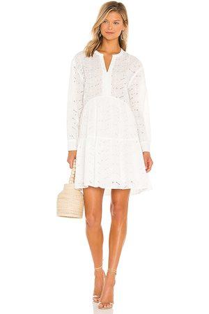 Rails Vestido layla en color talla L en - White. Talla L (también en XS, S, M).