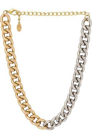 8 Other Reasons Pulsera tipo cadena benni en color oro metálico talla all en - Metallic Gold. Talla all.