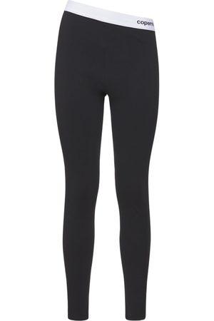 COPERNI Mujer Leggings y treggings - Leggings C+ Con Banda Con Logo