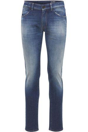 Pantaloni Torino Hombre Slim y skinny - Pantalones Super Slim De Denim De Algodón Stretch