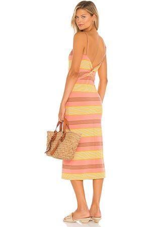 L*Space Vestido vanessa en color yellow,orange talla L en - Yellow,Orange. Talla L (también en XS, S, M).