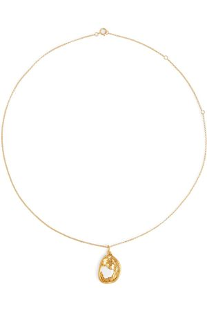 Alighieri The Aperture of Twilight 24kt gold-plated necklace