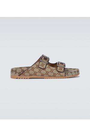 Gucci Hombre Sandalias - GG Supreme canvas sandals