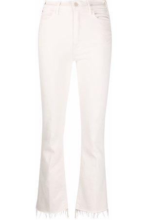Mother Mujer Acampanados - Jeans bootcut con tobillos deshilachados