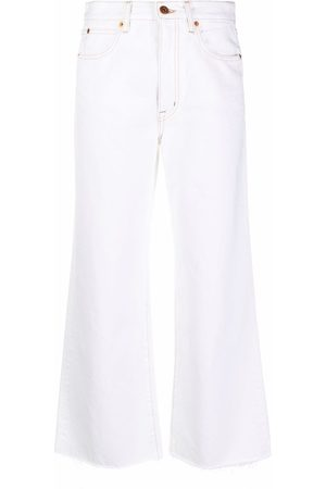 SLVRLAKE Mujer Rectos - Jeans anchos con tiro alto