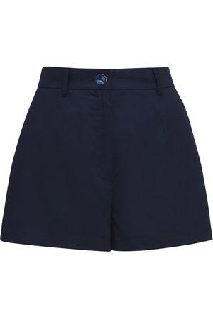 AG Mujer Pantalones y Leggings - Shorts De Popelina De Algodón