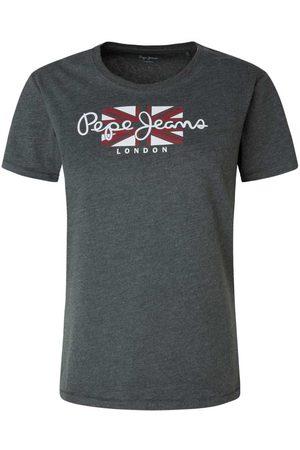 Pepe Jeans Camiseta Manga Corta Zaidas L Black