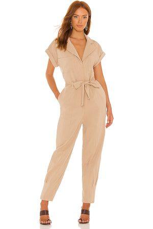 Lovers + Friends Whitney jumpsuit en color nude talla L en - Nude. Talla L (también en XXS, XS, S, M, XL).
