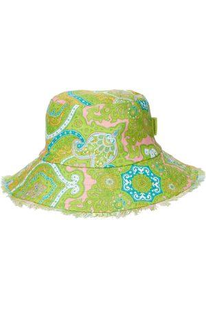ZIMMERMANN Paisley linen bucket hat