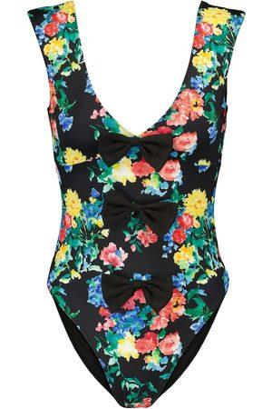 Caroline Constas Gale floral swimsuit