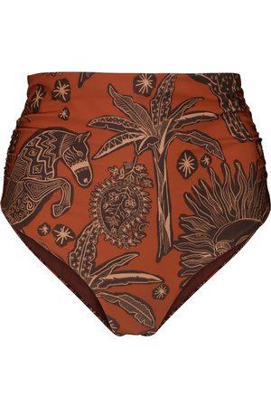 JOHANNA ORTIZ Aymara printed bikini bottoms