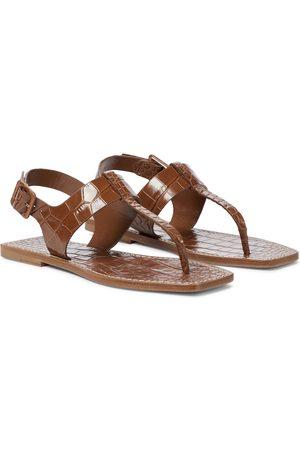 Christian Louboutin Cubongo flat thong sandals