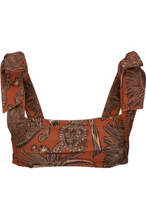 JOHANNA ORTIZ Tarija printed bikini top