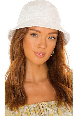 Lele Sadoughi Sombrero pesca panel en color blanco talla all en - White. Talla all.