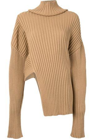 Proenza Schouler Mujer Suéteres - Suéter tejido de canalé asimétrico