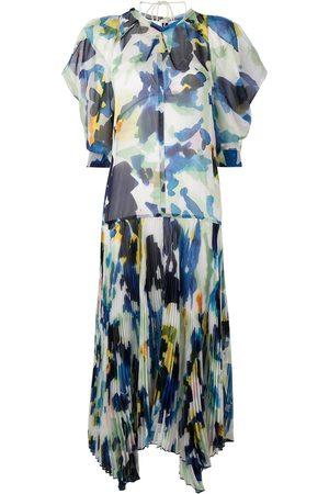 Proenza Schouler Mujer Cóctel - Vestido midi con estampado floral