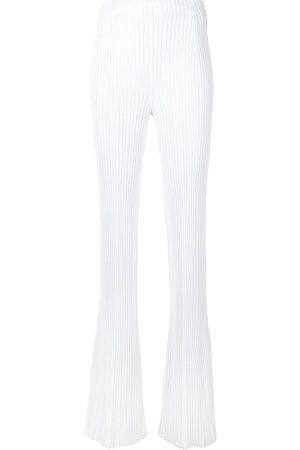 Proenza Schouler Pantalones tejidos de canalé