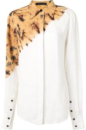 Proenza Schouler Camisa con diseño tie-dye