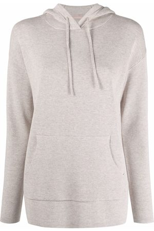 12 STOREEZ Mujer Suéteres - Suéter con capucha y cordones