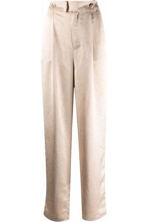 AERON Pantalones de satén Odile