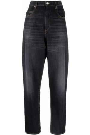 Isabel Marant Mujer Baggy & boyfriend - Boyfriend jeans con tiro alto