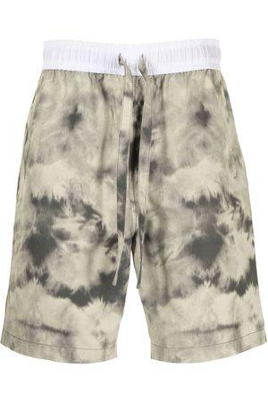 Ports V Shorts con estampado tie-dye
