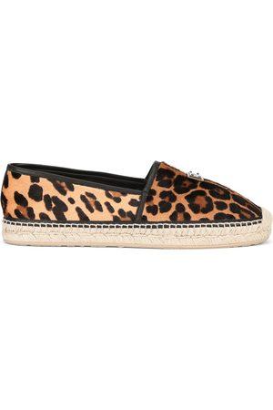 Dolce & Gabbana Hombre Alpargatas - Alpargatas con estampado de leopardo