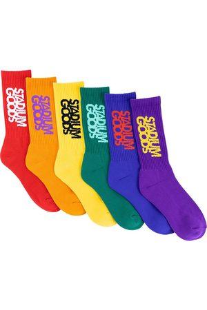 Stadium Goods Juego de 6 calcetines Pride Pack