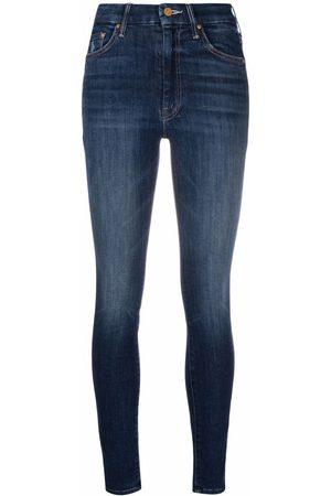 Mother Mujer Skinny - Skinny jeans con tiro alto