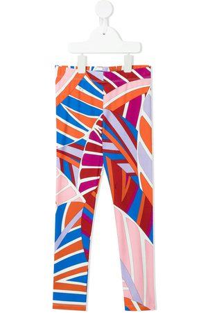 Emilio Pucci Leggins con estampado abstracto