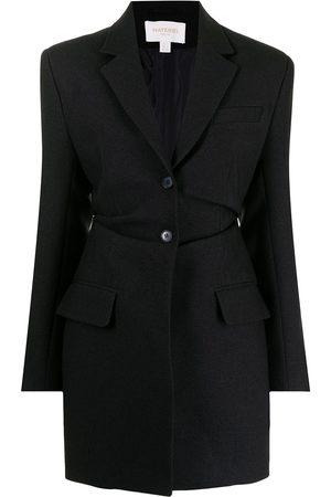 Materiel Blazer de vestir con cintura fruncida