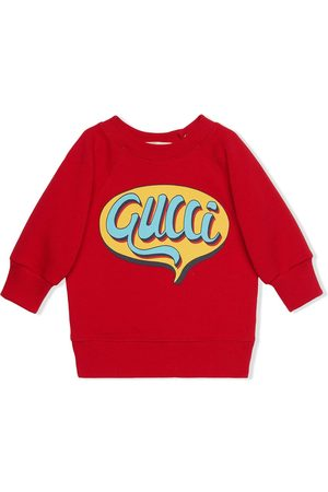 Gucci Kids Sudadera con logo Comics