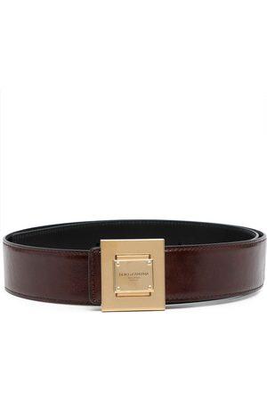 Dolce & Gabbana Cinturón con logo grabado