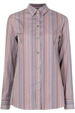 PAUL SMITH Camisa con estampado de rayas